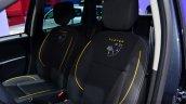 Dacia Duster Air front seats at the 2014 Paris Motor Show