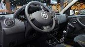 Dacia Duster Air interior at the 2014 Paris Motor Show