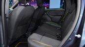 Dacia Duster Air rear seat at the 2014 Paris Motor Show