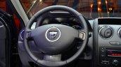 Dacia Duster Air steering wheel at the 2014 Paris Motor Show