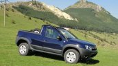 Dacia Duster pickup front quarter