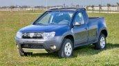 Dacia Duster pickup front quarters