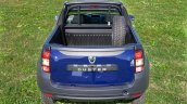 Dacia Duster pickup rear view