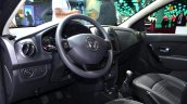 Dacia Sandero Black Touch interior at the 2014 Paris Motor Show