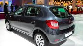 Dacia Sandero Black Touch rear three quarters at the 2014 Paris Motor Show