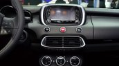 Fiat 500X AC controls at the 2014 Paris Motor Show
