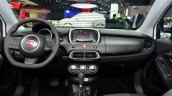Fiat 500X dashboard at the 2014 Paris Motor Show