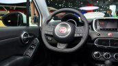 Fiat 500X driver side dashboard at the 2014 Paris Motor Show