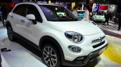 Fiat 500X front three quarters at the 2014 Paris Motor Show