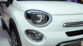 Fiat 500X headlamp and foglamp at the 2014 Paris Motor Show