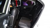 Fiat 500X rear seat at the 2014 Paris Motor Show