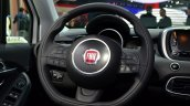 Fiat 500X steering wheel at the 2014 Paris Motor Show
