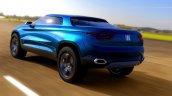 Fiat FCC4 Concept rear three quarters