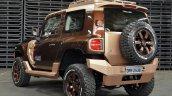 Ford Troller T4 Concept rear press shot