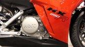 Hero HX250R at AIMExpo engine