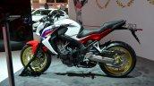 Honda CBR650F side at the 2014 Paris Motor Show