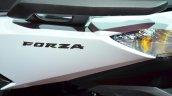 Honda Forza 125 badge at the 2014 Paris Motor Show