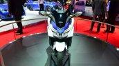 Honda Forza 125 front at the 2014 Paris Motor Show
