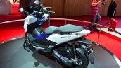 Honda Forza 125 rear three quarter at the 2014 Paris Motor Show