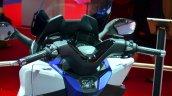 Honda Forza 125 steering column at the 2014 Paris Motor Show
