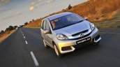 Honda Mobilio driving shot South Africa