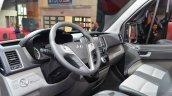 Hyundai H350 interior at the 2014 Paris Motor Show