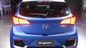 Hyundai HB20 R-Spec rear at the 2014 Sao Paulo International Motor Show