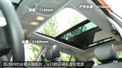 Hyundai ix25 launched in China sunroof