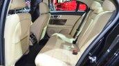 Jaguar XF special edition rear seat at the 2014 Paris Motor Show