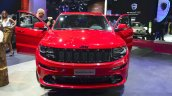 Jeep Grand Cherokee SRT Red Vapor at the 2014 Paris Motor Show