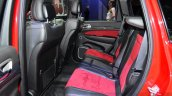Jeep Grand Cherokee SRT Red Vapor rear seat at the 2014 Paris Motor Show