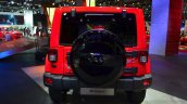 Jeep Wrangler Unlimited X rear at the Paris Motor Show 2014