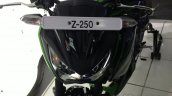 Kawasaki Z250 cowl from the India launch