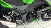 Kawasaki Z250 fairing side from the India launch