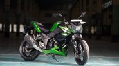 Kawasaki Z250 front three quarters in India