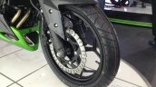 Kawasaki Z250 front wheel from the India launch