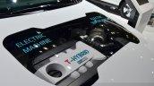 Kia Optima T-Hybrid engine bay at the 2014 Paris Motor Show