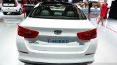 Kia Optima T-Hybrid rear at the 2014 Paris Motor Show