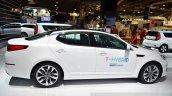 Kia Optima T-Hybrid side at the 2014 Paris Motor Show