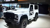 Land Rover Defender Black Pack for France at the 2014 Paris Motor Show