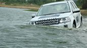 Land Rover Experience Land Rover Freelander water wading