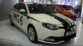 MG 6 front three quarter at the 2014 Colombo Motor Show