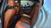 Maserati Ghibli Ermenegildo Zegna Edition rear seat at the 2014 Paris Motor Show