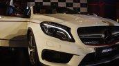 Mercedes-Benz GLA 45 AMG headlight Launch