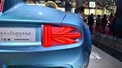 Mini Superleggera Vision Concep taillight t at the 2014 Paris Motor Show