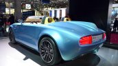 Mini Superleggera Vision Concept rear three quarter at the 2014 Paris Motor Show