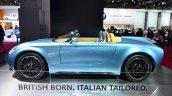 Mini Superleggera Vision Concept side at the 2014 Paris Motor Show