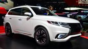Mitsubishi Outlander PHEV Concept-S front three quarters left at the 2014 Paris Motor Show