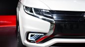 Mitsubishi Outlander PHEV Concept-S headlamp at the 2014 Paris Motor Show