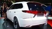 Mitsubishi Outlander PHEV Concept-S rear three quarters at the 2014 Paris Motor Show